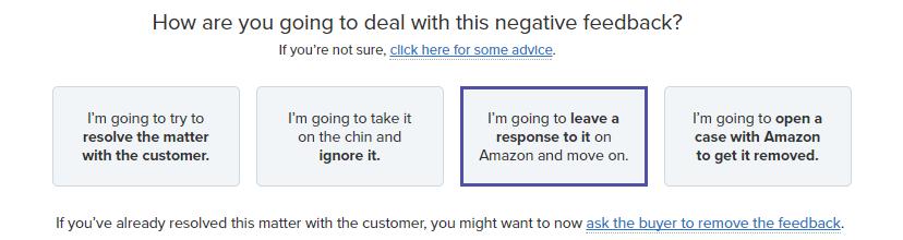 Response Amazon